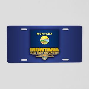 Montana (v15) Aluminum License Plate