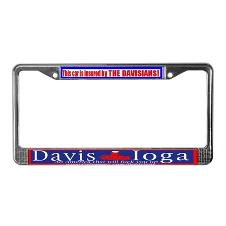 Davisian License Plate