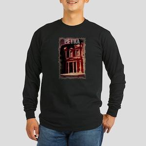 Petra Long Sleeve Dark T-Shirt