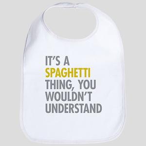 Its A Spaghetti Thing Bib