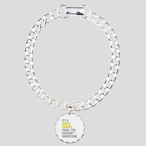 Its A Speech Therapy Thi Charm Bracelet, One Charm