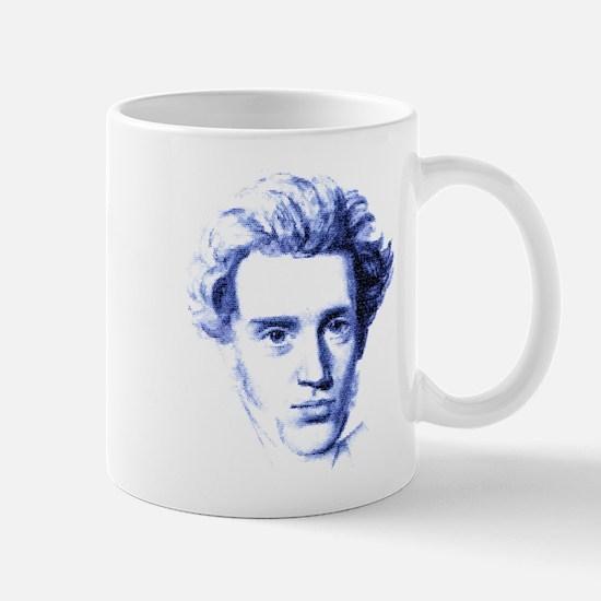 Blue Kierkegaard Mug