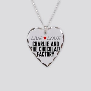 Live Love Charlie and the Chocolate Factory Neckla