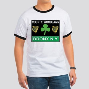 County Woodlawn Ringer T