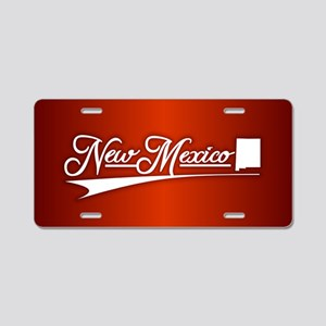 New Mexico State of Mine Aluminum License Plate