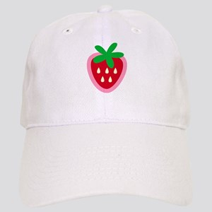 Strawberry Solitaire Cap
