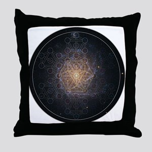 Luminous Tree of Life Throw Pillow