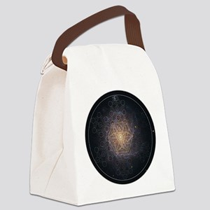 Luminous Tree of Life Canvas Lunch Bag