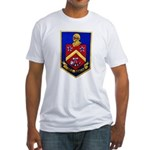 USS DUNCAN Fitted T-Shirt