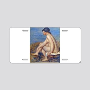 Renoir: The Bather Aluminum License Plate