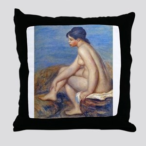 Renoir: The Bather Throw Pillow