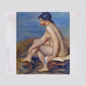 Renoir: The Bather Throw Blanket