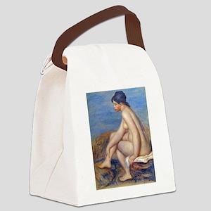 Renoir: The Bather Canvas Lunch Bag