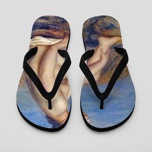 Renoir: The Bather Flip Flops
