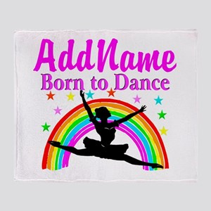 BORN DANCING Throw Blanket