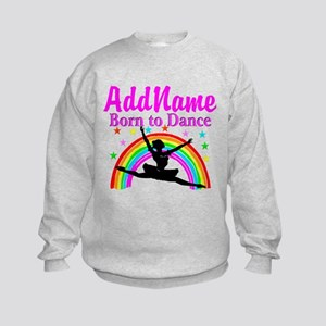 BORN DANCING Kids Sweatshirt