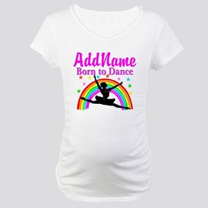 BORN DANCING Maternity T-Shirt