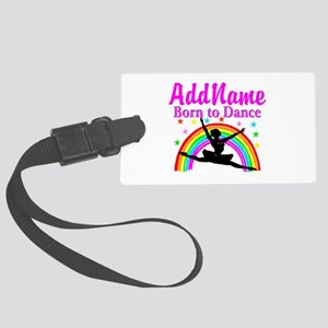 BORN DANCING Large Luggage Tag