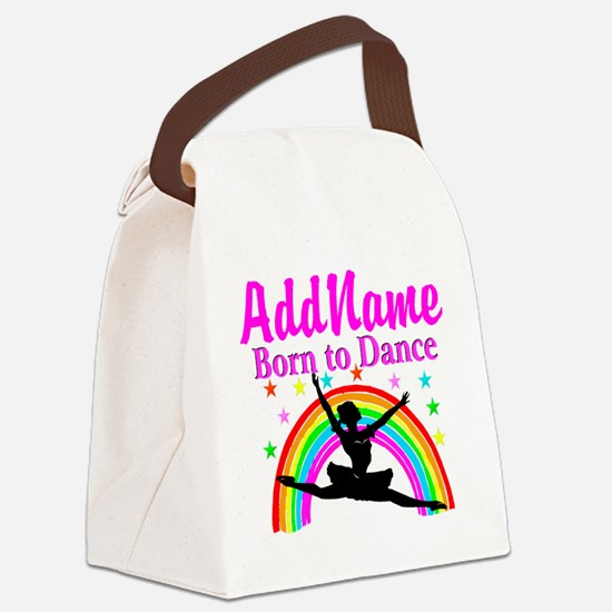 BORN DANCING Canvas Lunch Bag