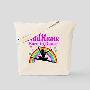 BORN DANCING Tote Bag