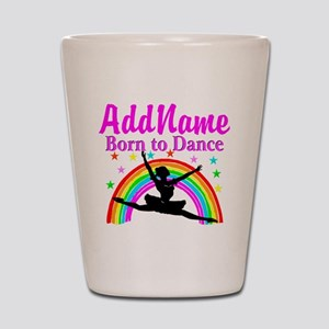 BORN DANCING Shot Glass
