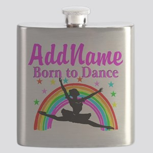 BORN DANCING Flask