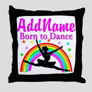 BORN DANCING Throw Pillow