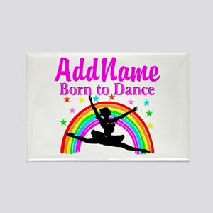 BORN DANCING Rectangle Magnet