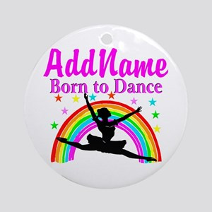 BORN DANCING Ornament (Round)