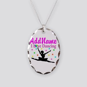 FOREVER DANCING Necklace Oval Charm