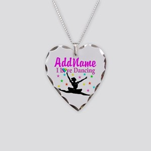 FOREVER DANCING Necklace Heart Charm