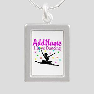 FOREVER DANCING Silver Portrait Necklace