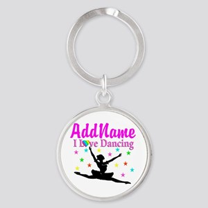FOREVER DANCING Round Keychain