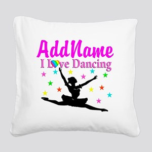 FOREVER DANCING Square Canvas Pillow