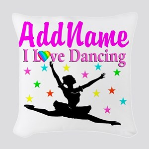 FOREVER DANCING Woven Throw Pillow