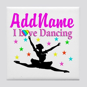 FOREVER DANCING Tile Coaster