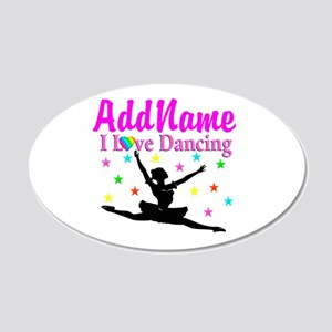 FOREVER DANCING 20x12 Oval Wall Decal