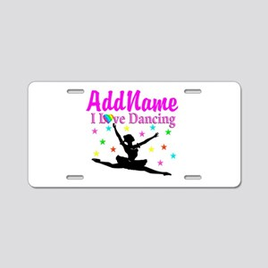 FOREVER DANCING Aluminum License Plate