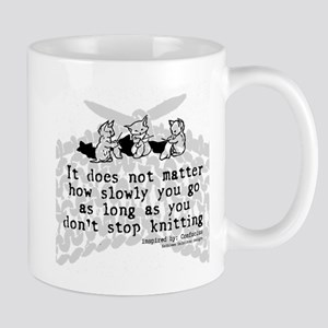 Don't Stop Knitting Mug