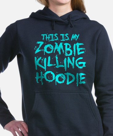 This Is My Zombie Killing Hoodie Women's Hooded Sw