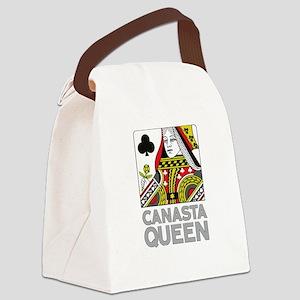 Canasta Queen Canvas Lunch Bag