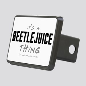 It's a Beetlejuice Thing Rectangular Hitch Cover