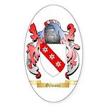 Gilmour Sticker (Oval 50 pk)