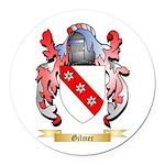 Gilmer Round Car Magnet