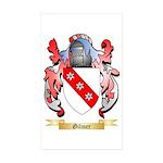 Gilmer Sticker (Rectangle 50 pk)