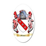 Gilmer 35x21 Oval Wall Decal