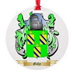 Gilly Round Ornament