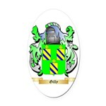 Gilly Oval Car Magnet