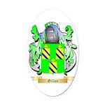 Gillon Oval Car Magnet