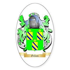 Gillon Sticker (Oval 10 pk)